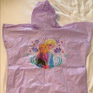 Disney Frozen Poncho Raincoat